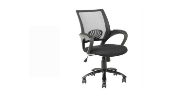 BestOffice Ergonomic Mesh Midback Office Chair with  Metal Base
