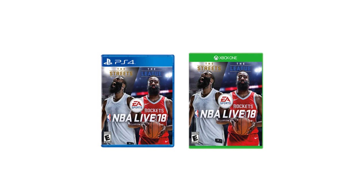 NBA Live 18 by EA Sports for PS4 and Xbox One for$39.99 at Gamestop