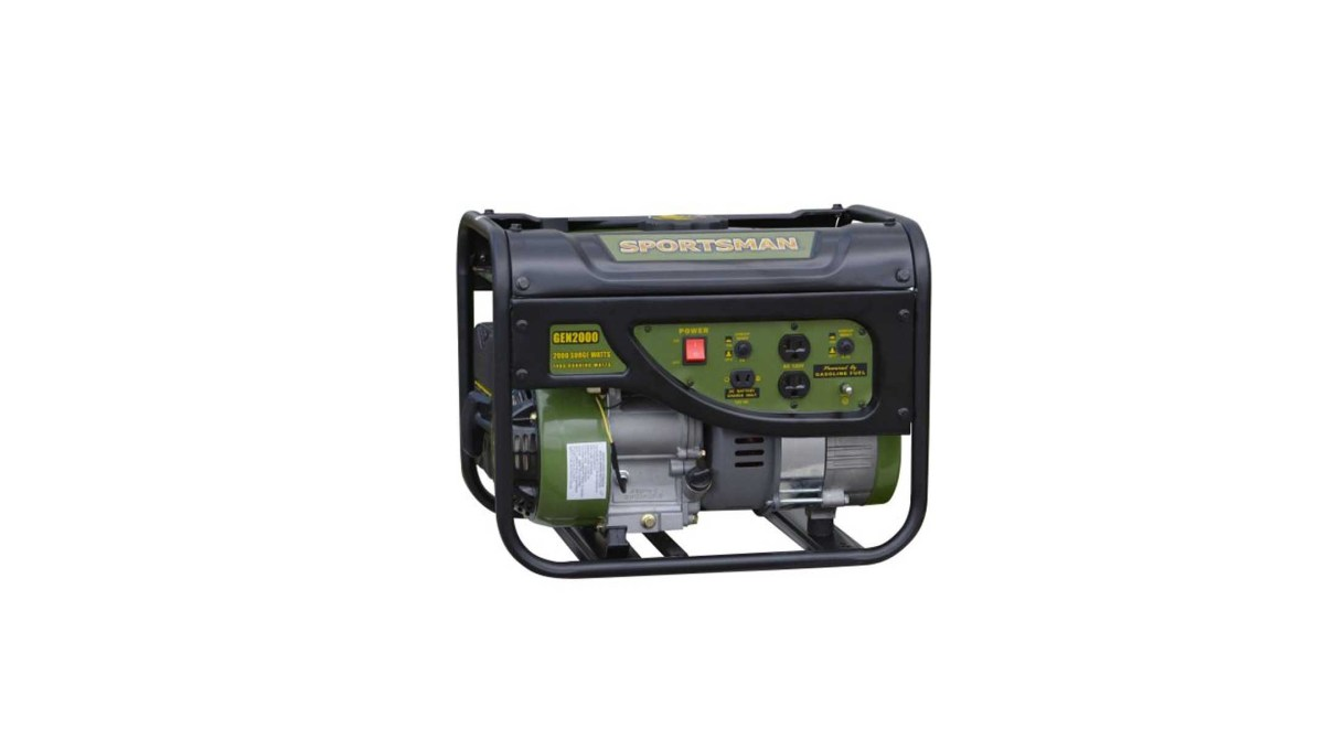 Sportsman Gasoline 2000W Portable Generator for $169 at Walmart