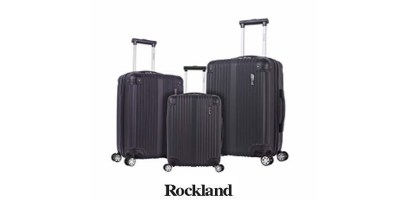 3-Piece Luggage Set Rockland Hardside Spinner
