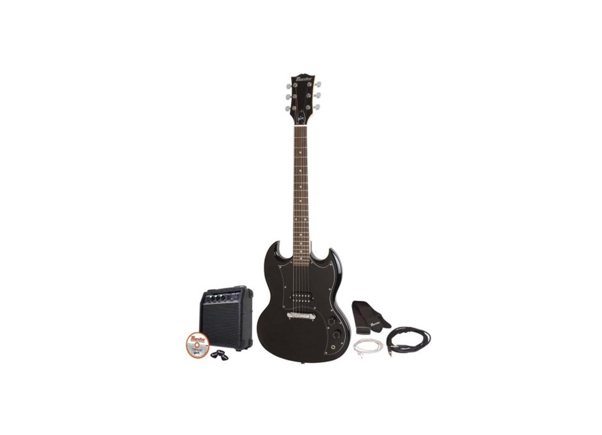 Maestro by Gibson MESGBKCH Double Cutaway Electric Guitar Kit for $79.00 at Amazon