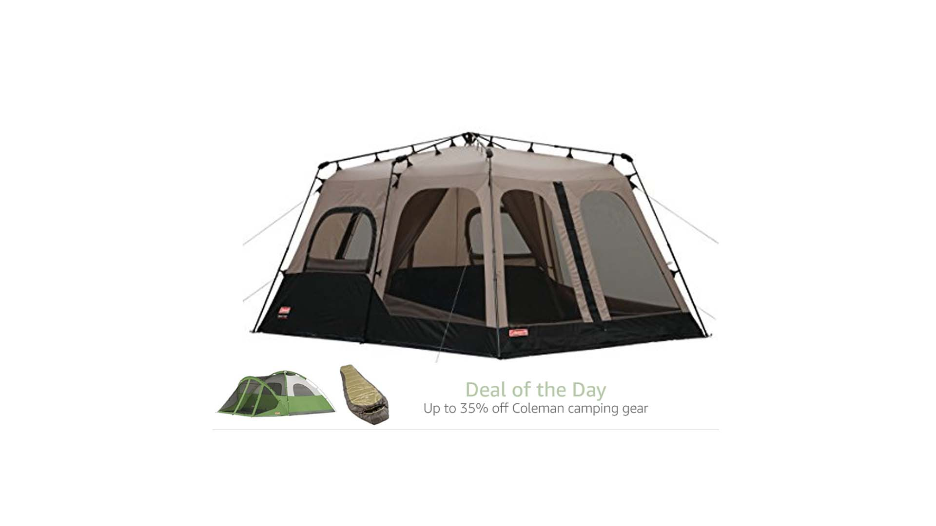 Coleman 8-Person Instant Tent for $188.58 at Amazon  sc 1 st  The Best Deals Club & Coleman 8-Person Instant Tent for $188.58 at Amazon u2013 The Best ...