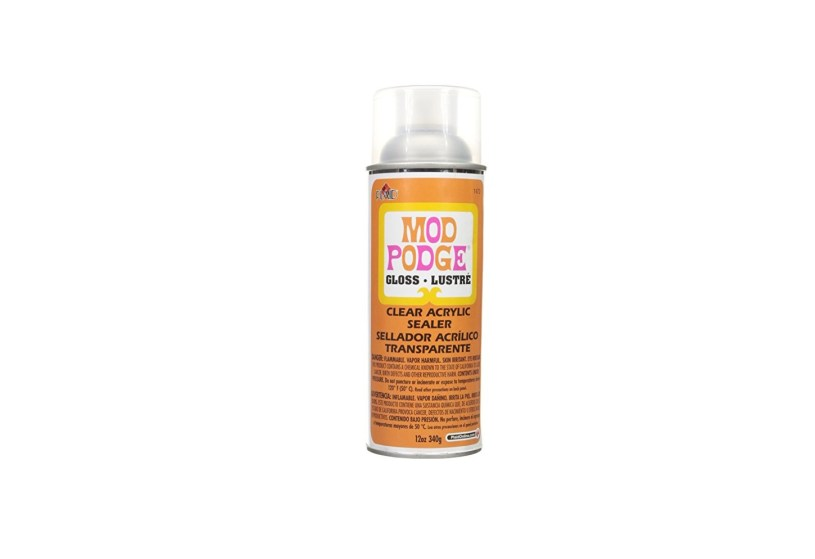 Mod Podge Clear Acrylic Sealer 1470 Gloss (12-Ounce)
