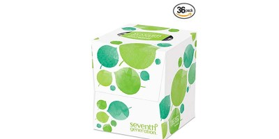 Seventh Generation Facial Tissue 2-Ply Sheets 85-Count Boxes (Pack of 36)