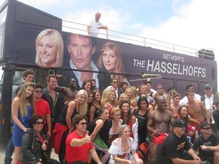 2010 Comic-Con, San Diego CA, with David Hasselhoff
