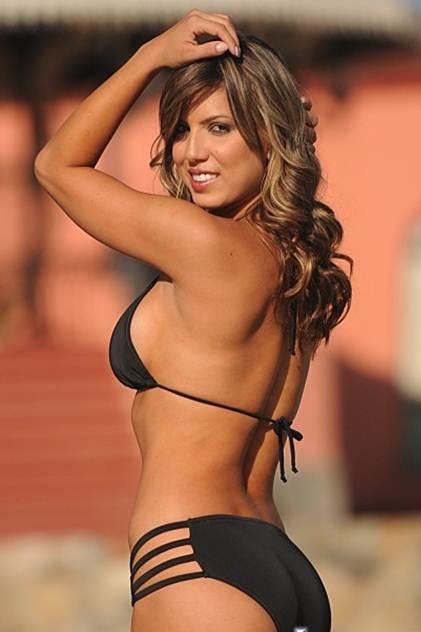 Black String bikini -2