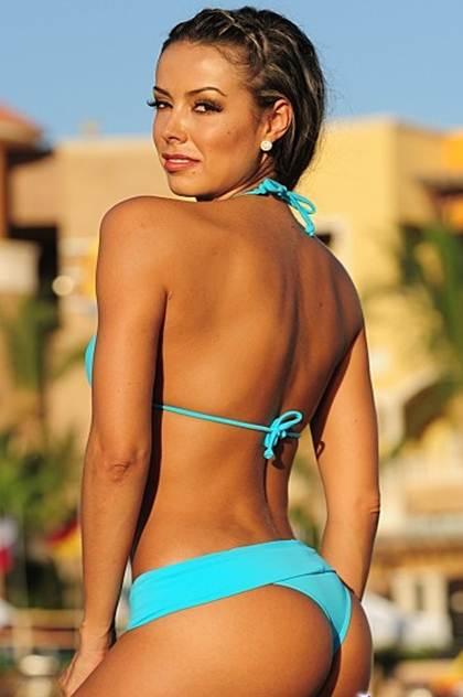 Sport Thong Bikini Rear View