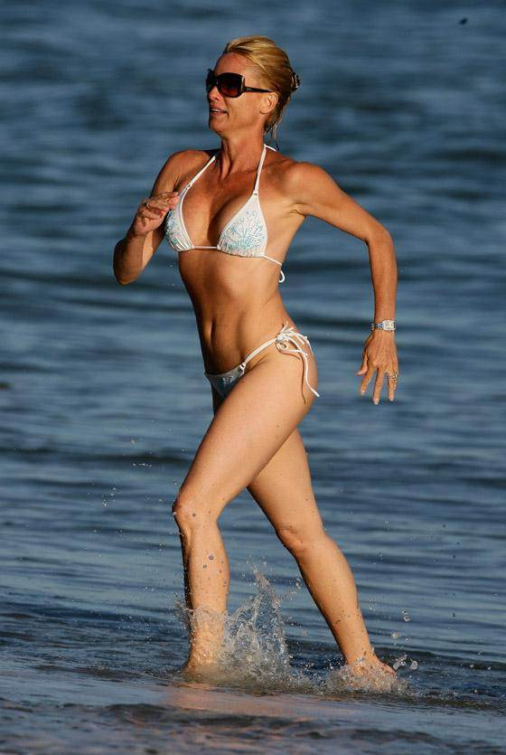 Bikini Bodies over 40  Nicollette Sheridan