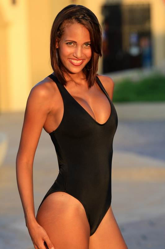 Bikinis For Women with Smaller Chests Shher One Piece Black