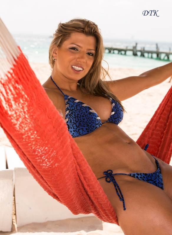 Finding the Right Thong Bikini as a Plus Size Women Blue Leopard Print Thong Beach