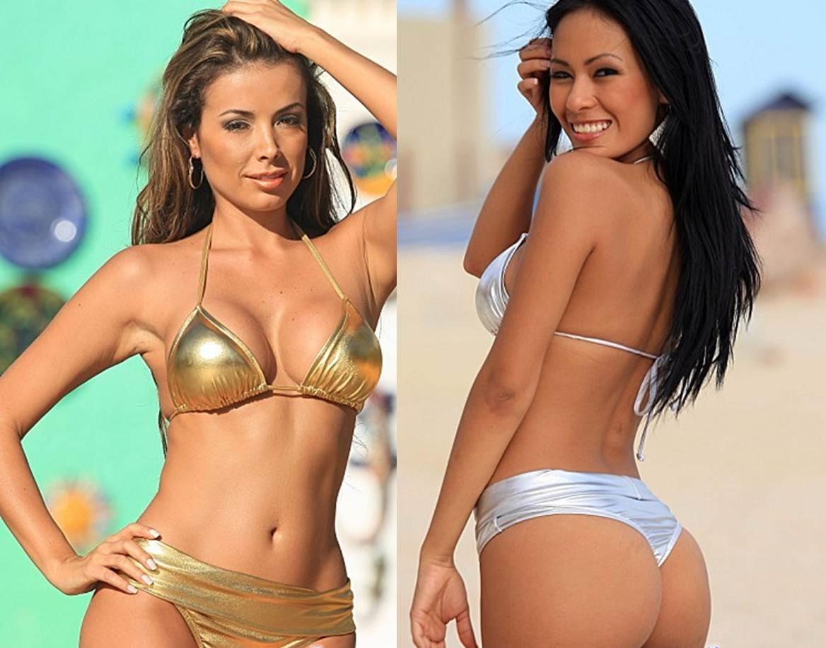 How to Buy your Girlfriend a Thong Bikini Metallic Thong Bikini