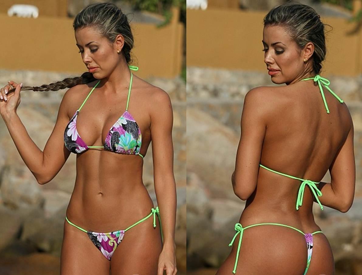 How to Buy your Girlfriend a Thong Bikini Sexy Floral G String Thong Bikini