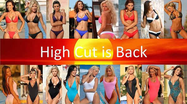 High Cut Bikinis High Cut One Piece Swimsuits