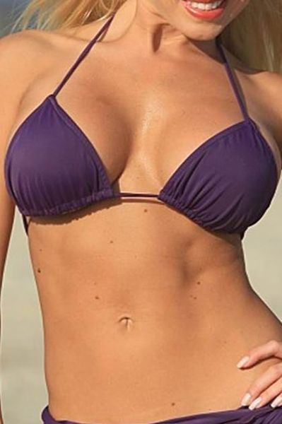 Purple-String-Colombian-Bikini-Top