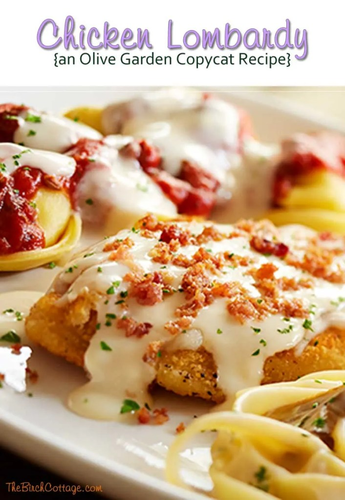 Chicken lombardy recipe - Low calorie meals at olive garden ...