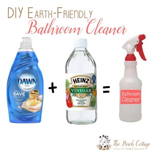 Going Green – DIY Bathroom Cleaner