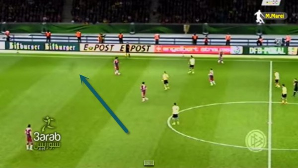 Shadowy Ghost-Like Figure Spotted at German Cup Final