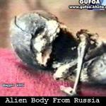 Alien Body in possession of Russian security