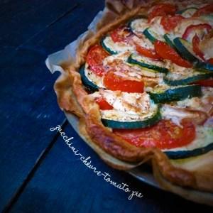 zucchini-tomato-chevre-theblindtaste-felipe-terrazzanpie