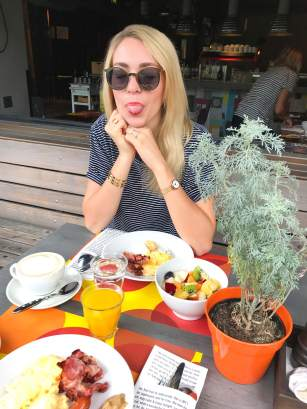 Frühstück 25hours Wien