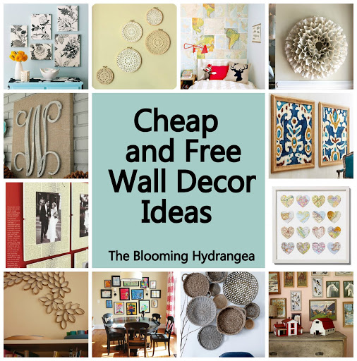 Cheap unique home decor ideas