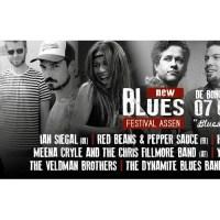 Het is bijna zover.......New Blues Festival Assen zaterdag 7 Okt. a.s.