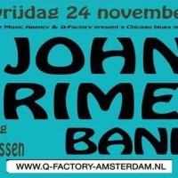 WIN ACTIE 1 X 2 Tickets JOHN PRIMER @ Q-Factory, Amsterdam!!!