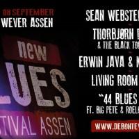 BINNENKORT 3e New Blues Festival Assen Zaterdag 8 Sept. a.s.