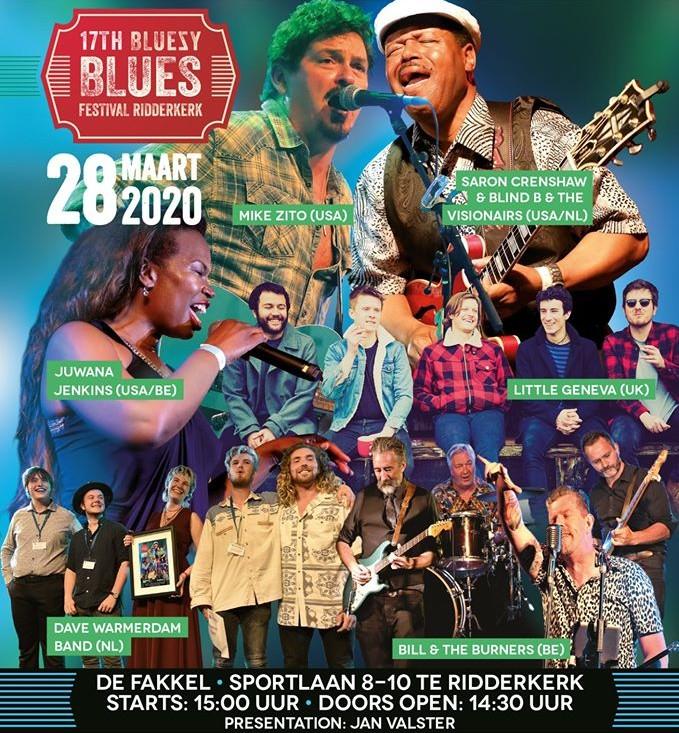 poster bluezy blues
