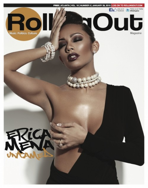 Erica Mena Covers Rolling Out Mag & Talks Bow Wow in the Bedroom