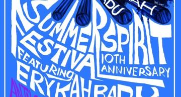 Summer Spirit Fest 2015 Celebrates 10 Years with Erykah Badu, Floetry Reunion and Anthony Hamilton [EVENT]