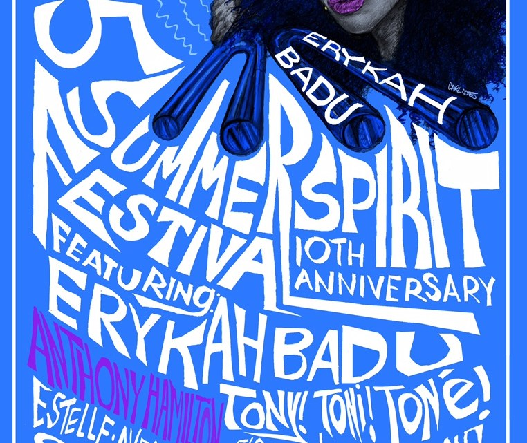 Summer Spirit Fest 2015 Celebrates 10 Years with Erykah Badu, Floetry Reunion and Anthony Hamilton [EVENT]