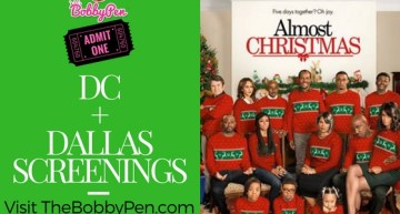 Attend DC + Dallas 'Almost Christmas' Screening [GIVEAWAY]