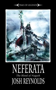 Neferata, by Josh Reynolds. Coming soon from the Black Library.