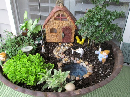 Medium Of Fairy Garden For Kids