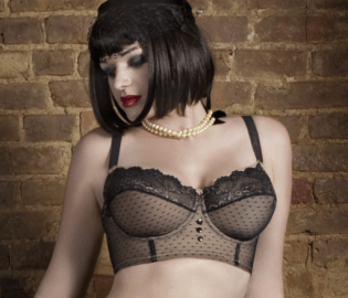 Dirty Dolls Dotted Corselette