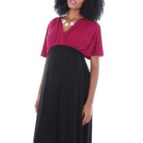 Goddess Maternity Maxi Dress