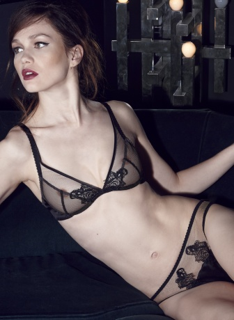 Fleur of England After Dark Plunge Bra