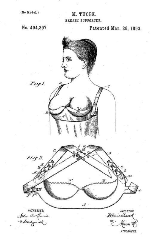 who invented the bra