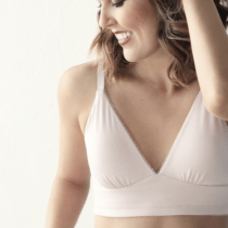 AnaOno Pocketed Plunge Wirefree Bra