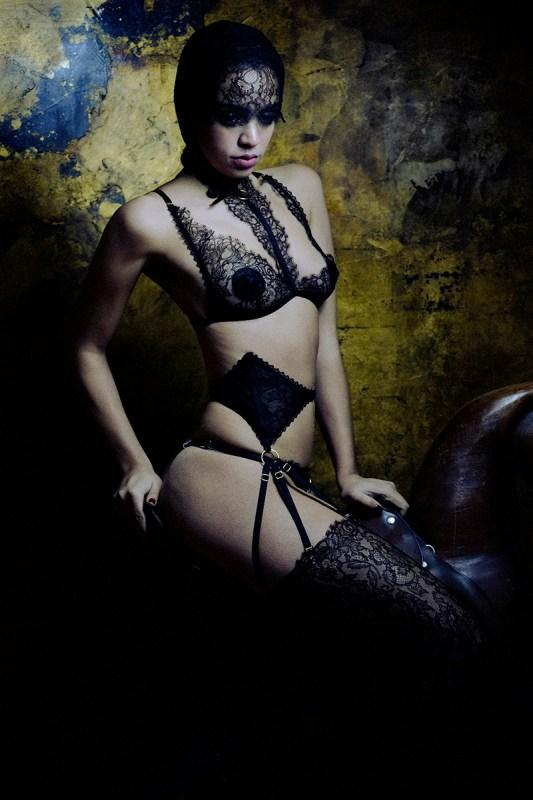 Karolina Laskowska Lingerie, photography by Jenni Hampshire - libra 2