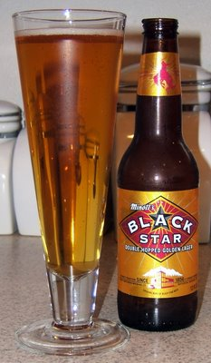 Black Star Beer, bottled version