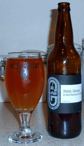 De Garde Brewing Petit Desay