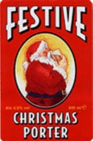 Festive Christmas Porter (label)