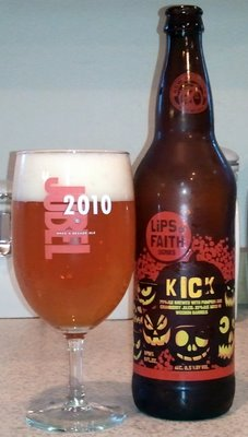Kick, Pumpkin and cranberry ale