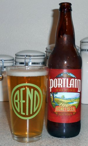 Portland Brewing Oregon Honey Beer
