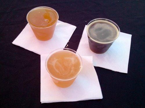 Below Grade Brewing beers