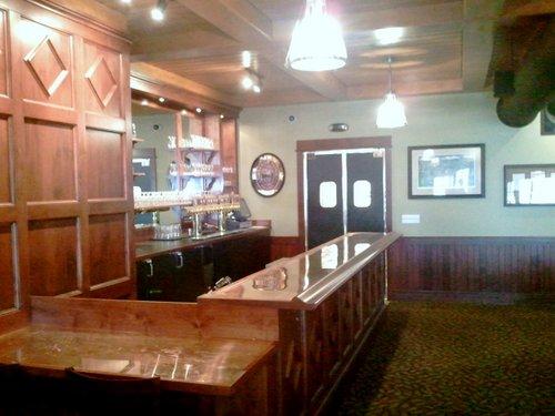 Deschutes Brewery Pub banquet bar