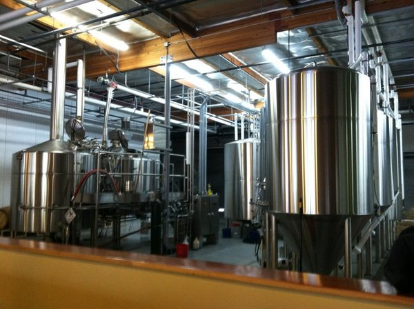 Societe Brewing brewhouse