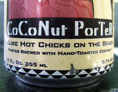 Maui Coconut Porter: Like hot chicks on the beach